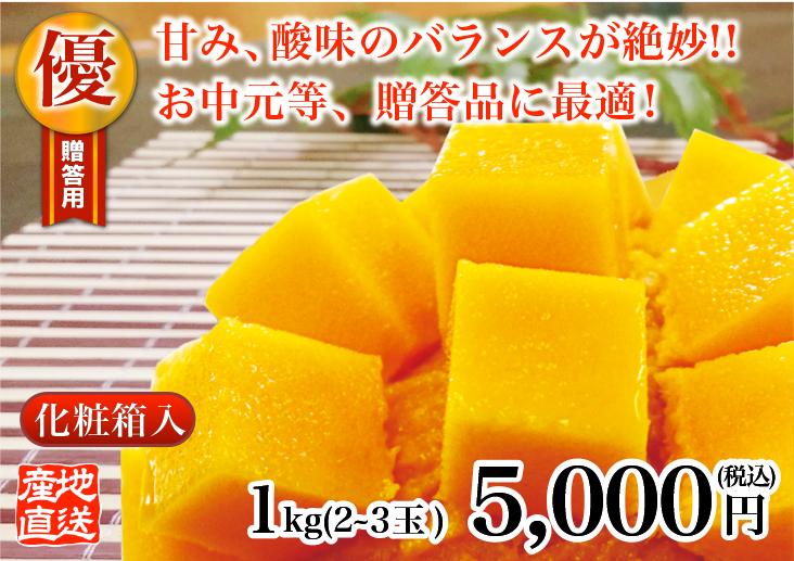 優品級マンゴー 1kg
