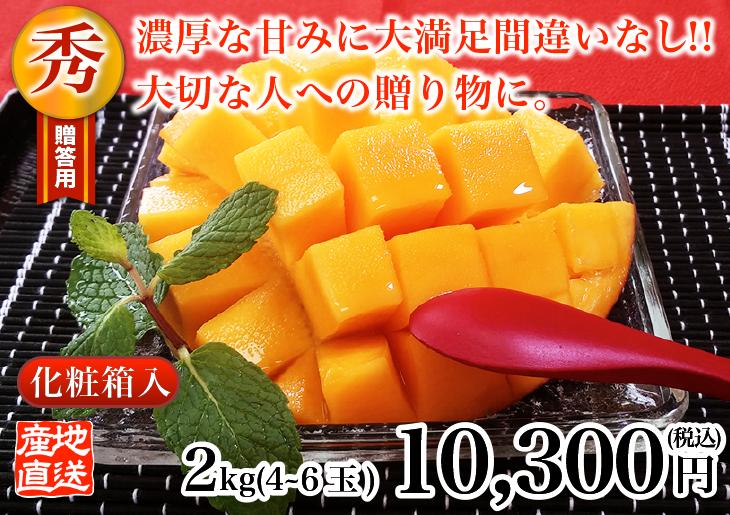 秀品級マンゴー 2kg